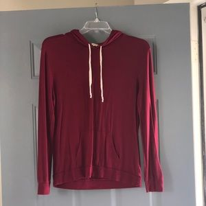 Express pull over hoodie